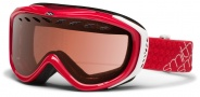 Smith Optics Transit Snow Goggles Goggles - Neon Red / RC36