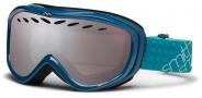 Smith Optics Transit Snow Goggles Goggles - Teal / Ignitor Mirror