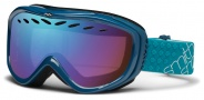 Smith Optics Transit Snow Goggles Goggles - Teal / Blue Sensor Mirror