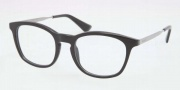 Prada PR 01PV Eyeglasses Eyeglasses - 1AB101 Gloss Black / Demo Lens