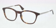 Prada PR 01PV Eyeglasses Eyeglasses - 2AU101 Havana / Demo Lens