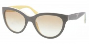 Prada PR 05PS Sunglasses Sunglasses - KA29S1 Top Grey / White / Yellow Brown Gradient