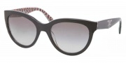 Prada PR 05PS Sunglasses Sunglasses - MAS0A7 Top Black / Roll Gray Gradient