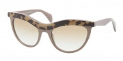 Prada PR 06PS Sunglasses Sunglasses - MA69S1 Top Medium Havana / Brown Gradient