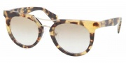Prada PR 08PS Sunglasses  Sunglasses - 7S09S1 Medium Havana / Brown Gradient 