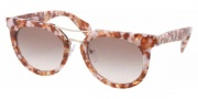 Prada PR 08PS Sunglasses  Sunglasses - NAH0A6 Pink Marble / Brown Gradient 