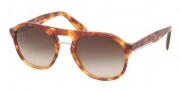 Prada PR 09PS Sunglasses  Sunglasses - 4BW6S1 Light Havana / Brown Gradient