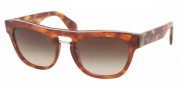 Prada PR 10PS Sunglasses Sunglasses - 4BW6S1 Light Havana / Brown Gradient