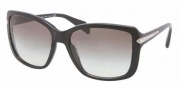 Prada PR 14PS Sunglasses Sunglasses - 1AB0A7 Black / Gray Gradient