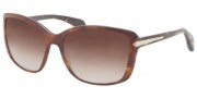 Prada PR 14PS Sunglasses Sunglasses - MA46S1 Top Light Havana / Havana Brown Gradient