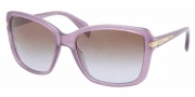Prada PR 14PS Sunglasses Sunglasses - MAV6P1 Opal Violet / Brown Gradient 