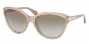 Prada PR 15PS Sunglasses Sunglasses - MAR1X1 Opal Olive Green / Brown Gradient