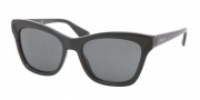 Prada PR 16PS Sunglasses Sunglasses - 1AB1A1 Black Gray