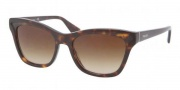 Prada PR 16PS Sunglasses Sunglasses - 2AU6S1 Havana / Brown Gradient