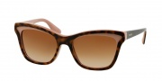 Prada PR 16PS Sunglasses Sunglasses - MAL1Z1 Havana / Pink Brown Gradient