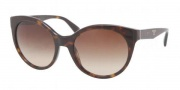 Prada PR 23OS Sunglasses Sunglasses - 2AU6S1 Havana / Brown Gradient 