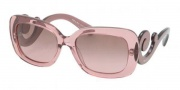 Prada PR 27OS Sunglasses Sunglasses - CAI5P1 Transparent Pink / Violet Gradient