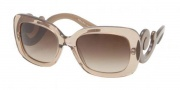 Prada PR 27OS Sunglasses Sunglasses - KAL1Z1 Brown / Brown Gradient