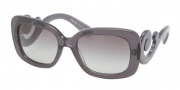 Prada PR 27OS Sunglasses Sunglasses - KAM0A7 Transparent Gray / Gray Gradient