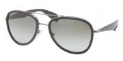 Prada PR 51PS Sunglasses Sunglasses - 5AV3M1 Gunmetal / Gray Gradient