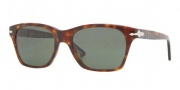 Persol PO 3027S Sunglasses Sunglasses - 24/31 Havana / Crystal Green