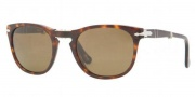 Persol PO 3028S Sunglasses Sunglasses - 24/57 Havana Crystal / Brown Polarized 