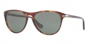 Persol PO 3038S Sunglasses Sunglasses - 24/31 Havana / Crystal Green 