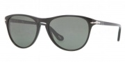 Persol PO 3038S Sunglasses Sunglasses - 95/31 Black / Crystal Green 