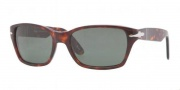 Persol PO 3040S Sunglasses Sunglasses - 24/31 Havana / Crystal Green 