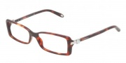 Tiffany & Co. TF2060G Eyeglasses Eyeglasses - 8141 Red Havana Demo Lens