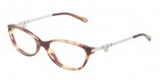 Tiffany & Co. TF2063 Eyeglasses Eyeglasses - 8081 Spotted Violet Demo Lens