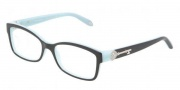 Tiffany & Co. TF2064B Eyeglasses Eyeglasses - 8055 Top Black / Blue Demo Lens