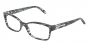 Tiffany & Co. TF2064B Eyeglasses Eyeglasses - 8129 Gray Havana / Demo Lens