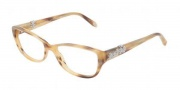 Tiffany & Co. TF2068B Eyeglasses Eyeglasses - 8077 Honey Brown Demo Lens