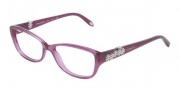 Tiffany & Co. TF2068B Eyeglasses Eyeglasses - 8112 Dark Violet Transparent Demo Lens