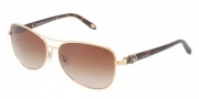 Tiffany & Co. TF3036B Sunglasses Sunglasses - 60723B Gold Brown Gradient 