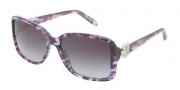 Tiffany & Co. TF4066 Sunglasses Sunglasses - 81323C Plum Havana / Gray Gradient
