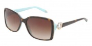 Tiffany & Co. TF4066 Sunglasses Sunglasses - 81343B Top Havana / Blue Brown Gradient