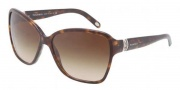 Tiffany & Co. TF4070B Sunglasses Sunglasses - 80153B Dark Havana / Brown Gradient 