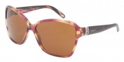 Tiffany & Co. TF4070B Sunglasses Sunglasses - 8081R1 Spotted / Violet Brown