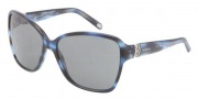 Tiffany & Co. TF4070B Sunglasses Sunglasses - 81133F Ocean Blue Gray 
