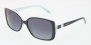 Tiffany & Co. TF4071B Sunglasses Sunglasses - 80554 Black / Blue Polar Blue Gradient
