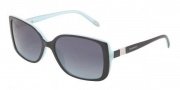 Tiffany & Co. TF4071B Sunglasses Sunglasses - 80553C Black / Blue Gray Gradient