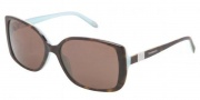 Tiffany & Co. TF4071B Sunglasses Sunglasses - 81343G Blue Havana / Brown