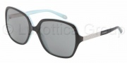 Tiffany & Co. TF4072B Sunglasses Sunglasses - 80553F Black / Blue Gray