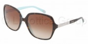 Tiffany & Co. TF4072B Sunglasses Sunglasses - 81343B Havana / Blue Brown Gradient