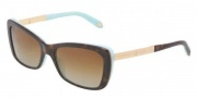 Tiffany & Co. TF4075B Sunglasses  Sunglasses - 8134 T5 Havana / Blue Pollar Brown Gradient