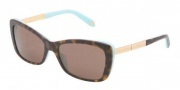 Tiffany & Co. TF4075B Sunglasses  Sunglasses - 81343G Havana / Blue Brown