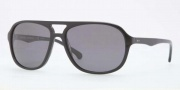 Brooks Brothers BB5007S Sunglasses Sunglasses - 600081 Black / Grey Solid Polar