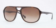 Brooks Brothers BB5007S Sunglasses Sunglasses - 600113 Tortoise Smoky / Brown Gradient